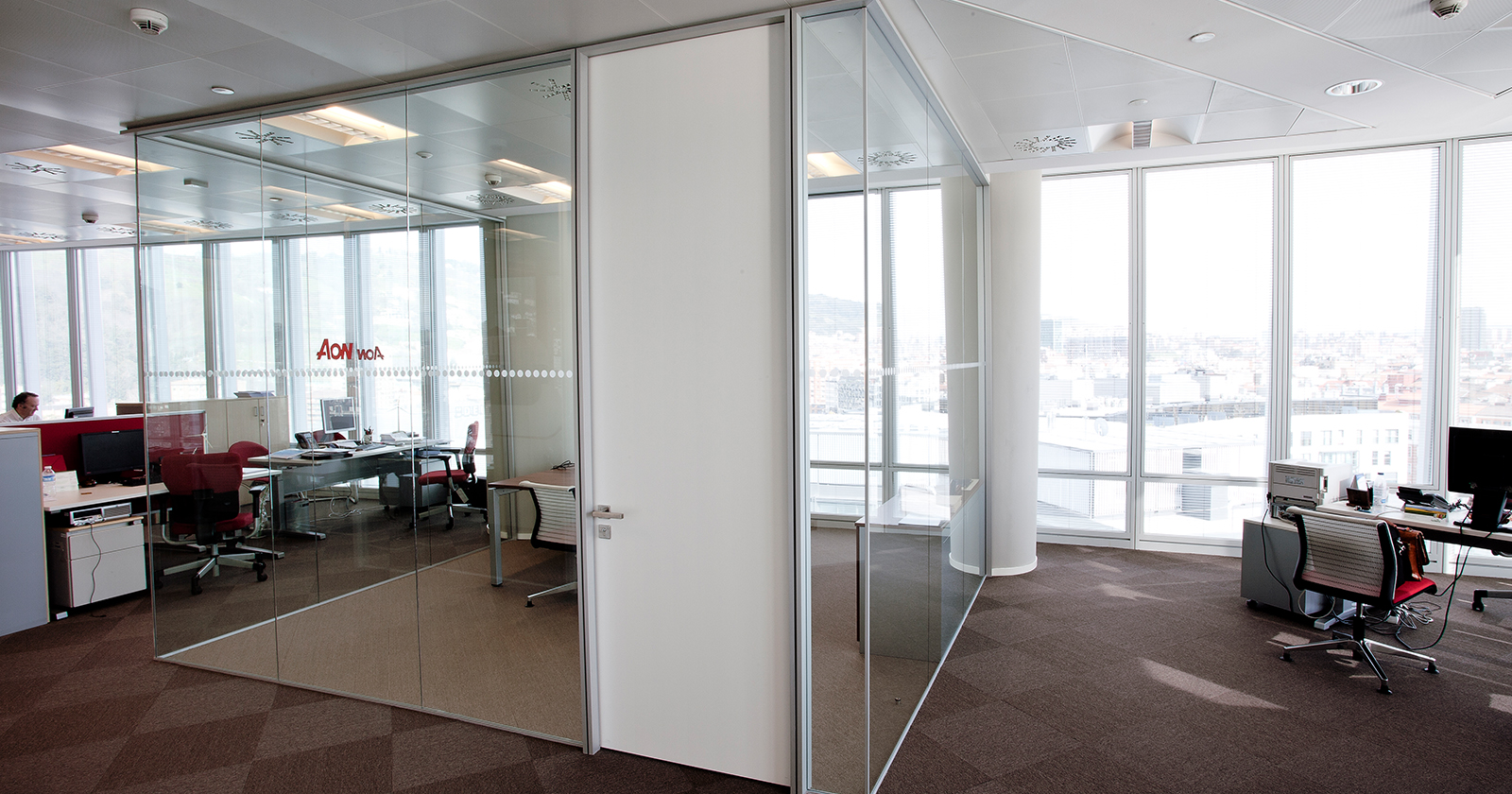 Continuous Glass Wall